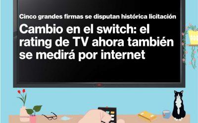 Cambio en el switch: el rating de TV ahora también se medirá por internet